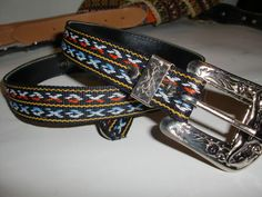 Vintage Cowgirl Southwestern Cowboy Western Men's Women's Belt Size 26 28 | eBay