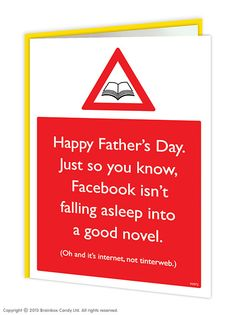 brainboxcandy.com - Fathers Day Facebook Greeting Card, £2.50 (http://www.brainboxcandy.com/fathers-day-facebook-greeting-card/)