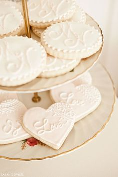 The Perfect Blend   Dessert Table Inspiration   cookies by Sarah's Sweets