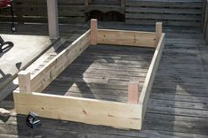 Instructions for building your own raised garden bed