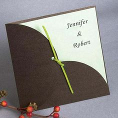 Simple Style Pocket Wedding Invitations [INGY030] as low as $2.09