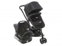 Carrinho de Bebê e Bebê ConfortoTravel System Mobi - para Crianças até 15kg - Safety 1st