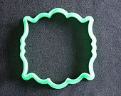 Plaque 10 Cookie Cutter