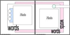 layout 6x6 and 8x8 - double-page - LittleBookofSketches - Picasa Web Albums
