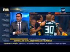 Clássico da final Paulista com muita confusão provocações e expulsões en...
