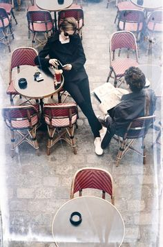 Couple in love. Coffeу is destiny :)