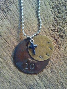 Tool Tag Necklace from  West Virginia Coal Jewelry