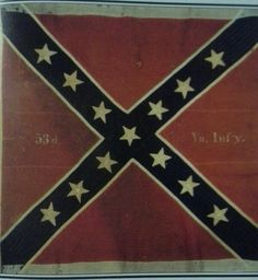 Possibly the same flag carried at Gettysburg during Pickett's charge.