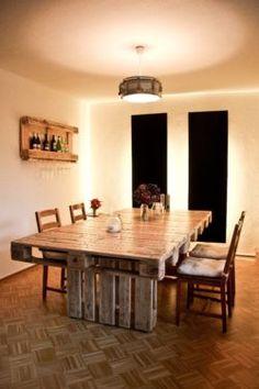 Schicker Palettentisch / Designer Tisch / Europalette in Düsseldorf - Bezirk 3 | Esstisch gebraucht kaufen | eBay Kleinanzeigen