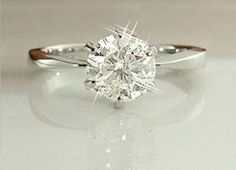 Sigh, so gorgeous Loveeee the thin tapered band 2 ct Solitaire Diamond Engagement Ring # platinum