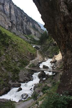 Kandersteg, Switzerland hiked this trail in June 2013