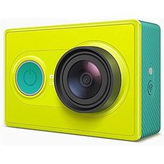Xiaomi Yi Sport Cam Action Camera Ambarella WiFi Bluetooth Support Android Only Action Sport DV (Green) Sonos, Bluetooth, Base Hd, Gopro Diy, Wi Fi, Action Sport, High Speed Photography, Camera Prices, Full Hd 1080p