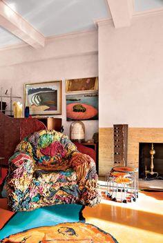 Gaetano Pesce designed Ruth Lande Shuman eccentric Park Avenue apartment, NYC Trendland