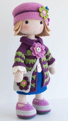 TILDA Crochet Doll -