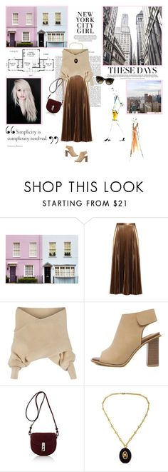 """Style"" by kokosh ❤ liked on Polyvore featuring WALL, Beauty Secrets, A.L.C., WithChic, Altuzarra, Chloé and BLVD Supply"