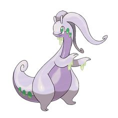 "Pokeball Pokemon - Goodra - Goodra doesn't have the range of some other pokemon, but it will use ""Dragon Tail"" with it's massive tail and instantly Knock foes away with the force of Little Mac's KO punch. Pokemon Pokedex, Pokemon Tv, Pokemon X And Y, Pokemon Images, Pokemon Pictures, Cool Pokemon, Pokemon Cards, Dragon Type Pokemon, Photo Pokémon"