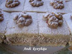 Andi konyhája - Sütemény és ételreceptek képekkel - G-Portál Macarons, Muffin, Pudding, Sweets, Cookies, Cake, Food, Pies, Mocha