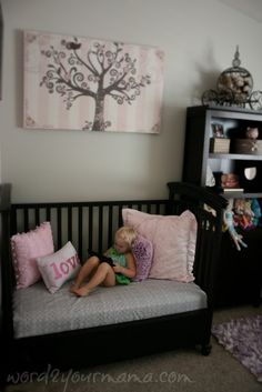Ideas for baby cribs repurpose playrooms Repurposed Furniture, Diy Furniture, Crib Bench, Old Cribs, Diy Crib, Idee Diy, Baby Cribs, Boy Room, Home Projects