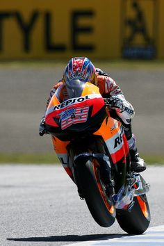Nicky Hayden Is my dad's favorite motorcycle rider.