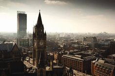 The best cities in the UK 2019 Short Break Holidays, Manchester Town Hall, Best Workplace, Abstract City, London Skyline, Salford, West Yorkshire, Derbyshire, City Break