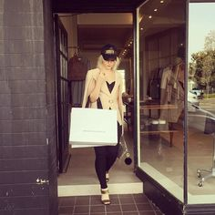 Stepping out of @brigidmclaughlin picking up my faves for #MBFWA  Photographed by @mikedaroy of @noirmediagroup_