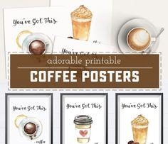 Free Printable Coffee Posters