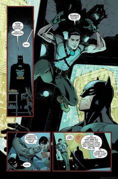 1/09/18   11:49p  DC  Batman  Dick Grayson aka  Nightwing   Bruce  Wayne aka Batman  ''I Heard Your Stomach Growl..''  Batman