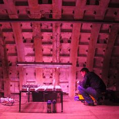 100 feet beneath the surface, below even the level of the London Underground, there is another layer of World War Two shelters where something amazing is coming to life. Richard Ballard and Steven …