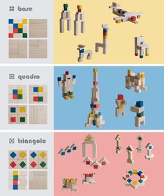 Wooden Toy (Building blocks) [CUBICOLO]