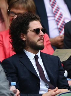 Kit Harington - Wimbledon 2015