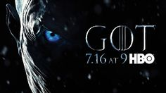 HBO released a new poster for Game of Thrones season 7 on Tuesday. The key art features a close up of the highly acclaimed series' most notorious villain, the Night King. Game Of Thrones Prequel, Game Of Thrones Episodes, Watch Game Of Thrones, Game Of Thrones Facts, Game Of Thrones Quotes, Game Of Thrones Funny, Jack Gleeson, Harry Lloyd, Jonathan Pryce