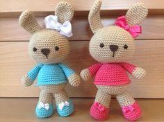 Amigurumi rabbit. Free pattern (español)
