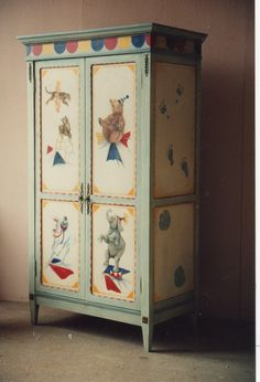 Whimsical Painted Furniture | unique piece of furniture in your home that has been hand-painted ...