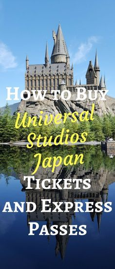 How to Buy Universal Studios Japan USJ Osaka Online Tickets and Express Pass