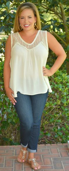 Holy Moley Top - Cream - Perfectly Priscilla Boutique