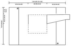 "Stony Ridge - Chaqueta a ganchillo DROPS tejida en un cuadrado con ""Cloud"". Talla S-XXXL. - Free pattern by DROPS Design"