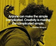 Van ingewikkeld naar simpel