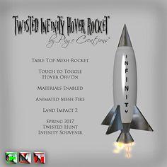 ღ ♡ Twisted Hunt Extras - Infinity Hover Rocket by Page Creations™ ♡ ღ | by Raven Page