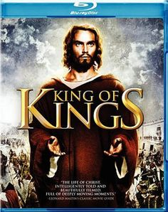 """""""King of Kings"""" - Christian Movie/Film on Blu-ray with Jeffrey Hunter. Check out Christian Film Database for more info - http://www.christianfilmdatabase.com/review/king-of-kings/"""