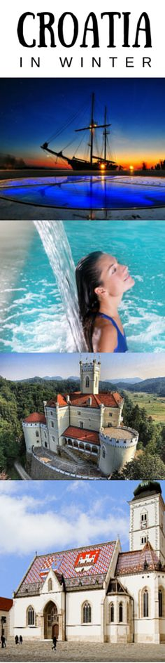 For Europeans, Croatia represents one of the most popular summer holiday destinations, usually because they consider it cheaper than Greece. Summer is gone, though, and winter is here so I think we should take a look at some of the sights worth seeing in Croatia during the cold season.