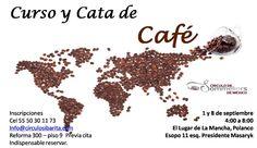 Curso y cata de café / Círculo de Sommeliers de México / DF/ 1 y 8 Sep 2012