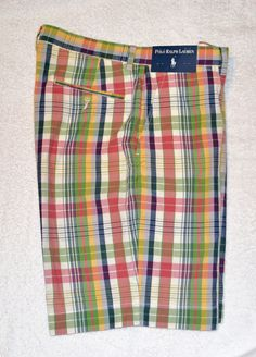 Prospect Short. POLO by Ralph Lauren. Size: Waist 38. If you get a minute, sneak a peek. Picture may not represent size for sale, as I have many sizes available for sale. | eBay!
