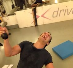 Sebastian Stan Working Out At The Gym
