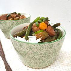 Gezonde en snelle maaltijd kip & groente in sojasaus | Made by Ellen