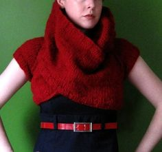 PDF knitting pattern- Funnel Cloud Shrug