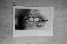 Lips drawing....