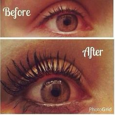 Before and after pics with Younique Moodstruck Fiber Lashes Mascara . 3d Mascara, Mascara Wands, 3d Fiber Lashes, 3d Fiber Lash Mascara, Mascara Tips, Best Mascara, Younique, Lash Enhancers, False Lashes