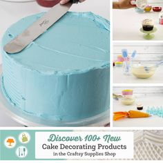 Win a Box of Must-Have Cake Products + Discover the Craftsy Cake Decorating Shop!
