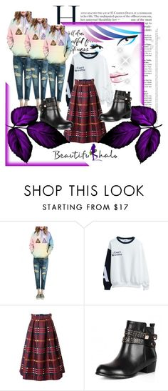 """""""#8 beautifulhalo"""" by selmina ❤ liked on Polyvore featuring mode, bhalo en bhalo8"""