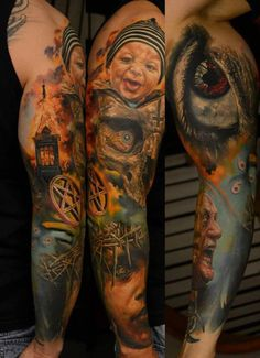 41 full sleeve tattoo